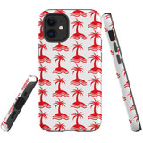 For Apple iPhone 12 Pro Max/12 Pro/12 mini Case, Tough Protective Back Cover, palm tree pattern | iCoverLover Australia