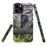 For Apple iPhone 12 Pro Max Case, Tough Protective Back Cover, frogmouth family | iCoverLover Australia