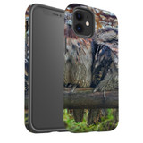 For Apple iPhone 12 Pro Max/12 Pro/12 mini Case, Tough Protective Back Cover, frogmouth family | iCoverLover Australia