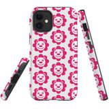 For Apple iPhone 12 Pro Max/12 Pro/12 mini Case, Tough Protective Back Cover, lion heapattern   iCoverLover Australia