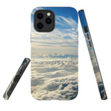 For Apple iPhone 12 Pro Max Case, Tough Protective Back Cover, sky clouds | iCoverLover Australia