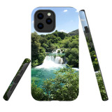 For Apple iPhone 12 Pro Max Case, Tough Protective Back Cover, beautiful waterfalls   iCoverLover Australia