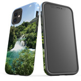 For Apple iPhone 12 Pro Max/12 Pro/12 mini Case, Tough Protective Back Cover, beautiful waterfalls | iCoverLover Australia