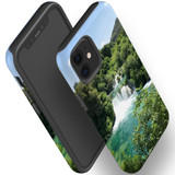 For Apple iPhone 12 Pro Max/12 Pro/12 mini Case, Tough Protective Back Cover, beautiful waterfalls   iCoverLover Australia