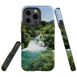 For Apple iPhone 13 Pro Case, Protective Back Cover, Beautiful Waterfalls | Shielding Cases | iCoverLover.com.au