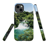 For Apple iPhone 13 Case, Protective Back Cover, Beautiful Waterfalls | Shielding Cases | iCoverLover.com.au