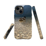 For Apple iPhone 12 Pro Max Case, Tough Protective Back Cover, a couple of ducks floating | iCoverLover Australia