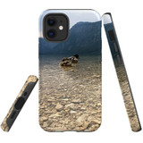 For Apple iPhone 12 mini Case, Tough Protective Back Cover, a couple of ducks floating | iCoverLover Australia