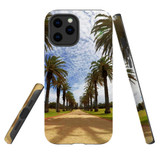 For Apple iPhone 12 Pro Max Case, Tough Protective Back Cover, st kilda palm walkway 1 | iCoverLover Australia