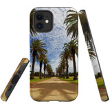 For Apple iPhone 12 mini Case, Tough Protective Back Cover, st kilda palm walkway 1 | iCoverLover Australia
