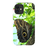 For Apple iPhone 12 mini Case, Tough Protective Back Cover, Butterfly Tree | iCoverLover Australia
