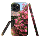 For Apple iPhone 12 Pro Max Case, Tough Protective Back Cover, Blossoming Bush | iCoverLover Australia