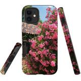 For Apple iPhone 12 mini Case, Tough Protective Back Cover, Blossoming Bush   iCoverLover Australia