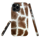 For Apple iPhone 12 mini Case, Tough Protective Back Cover, giraffe pattern | iCoverLover Australia