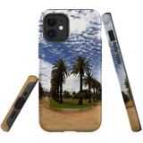 For Apple iPhone 12 mini Case, Tough Protective Back Cover, st kilda palm walkway 2   iCoverLover Australia