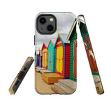 For Apple iPhone 13 mini Case, Protective Back Cover, Brighton Bathing Boxes   Shielding Cases   iCoverLover.com.au