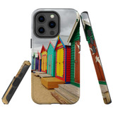 For Apple iPhone 13 Pro Max Case, Protective Back Cover, Brighton Bathing Boxes   Shielding Cases   iCoverLover.com.au
