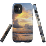 For Apple iPhone 12 mini Case, Tough Protective Back Cover, sunset thailand | iCoverLover Australia