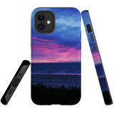 For Apple iPhone 12 mini Case, Tough Protective Back Cover, sunset at henley beach   iCoverLover Australia