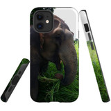 For Apple iPhone 12 mini Case, Tough Protective Back Cover, thai elephant | iCoverLover Australia