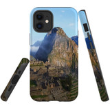 For Apple iPhone 12 Pro Max Case, Tough Protective Back Cover, Machu Pichu | iCoverLover Australia