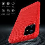 iPhone 12 Pro Max/12 Pro/12 mini Case Snap Armour Thin Light Shockproof Cover, Red