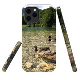 For Apple iPhone 12 Pro Max/12 Pro/12 mini Case, Tough Protective Back Cover, a couple of ducks | iCoverLover Australia