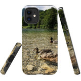 For Apple iPhone 12 mini Case, Tough Protective Back Cover, a couple of ducks | iCoverLover Australia