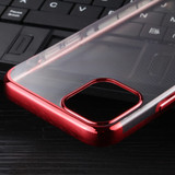 For iPhone 12 Pro Max,12 Pro/12, 12 mini Case Electroplated TPU Protective Soft Cover, Red    iCoverLover Australia
