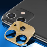Rear Camera iPhone 11 Metal Lens Protection Cover Gold