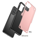 For Samsung Galaxy S21 Ultra/S21+ Plus/S21 Case, Shockproof Armour Protective Cover, Black   iCoverLover.com.au   Phone Cases