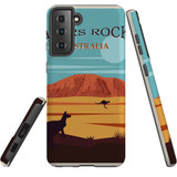 Samsung Galaxy S21 Case, Tough Protective Back Cover, Ayers Rock | iCoverLover.com.au | Phone Cases