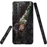 Samsung Galaxy S21 Ultra/S21+ Plus/S21  Case, Tough Protective Back Cover, Head On A Tree   iCoverLover.com.au   Phone Cases