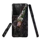 Samsung Galaxy S21 Ultra Case, Tough Protective Back Cover, Head On A Tree   iCoverLover.com.au   Phone Cases