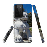 Samsung Galaxy S21 Ultra Case, Tough Protective Back Cover, Komainu   iCoverLover.com.au   Phone Cases