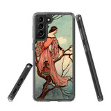 Samsung Galaxy S21+ Plus Protective Case, Clear Acrylic Back Cover, Tree Princess | iCoverLover.com.au | Phone Cases