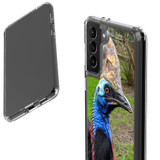Samsung Galaxy S21 Ultra/S21+ Plus/S21 Protective Case, Clear Acrylic Back Cover, Cassowary | iCoverLover.com.au | Phone Cases