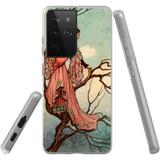 Samsung Galaxy S21 Ultra Flexi Case, Clear Protective Soft Back Cover, Tree Princess | iCoverLover.com.au | Phone Cases