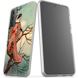 Samsung Galaxy S21 Ultra/S21+ Plus/S21 Flexi Case, Clear Protective Soft Back Cover, Tree Princess | iCoverLover.com.au | Phone Cases