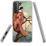 Samsung Galaxy S21+ Plus Flexi Case, Clear Protective Soft Back Cover, Tree Princess | iCoverLover.com.au | Phone Cases