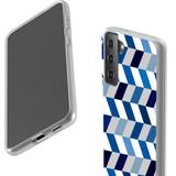 Samsung Galaxy S21 Ultra/S21+ Plus/S21 Flexi Case, Clear Protective Soft Back Cover, Chevron ZigZag Chevron | iCoverLover.com.au | Phone Cases