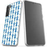 Samsung Galaxy S21 Ultra/S21+ Plus/S21 Flexi Case, Clear Protective Soft Back Cover, Couples | iCoverLover.com.au | Phone Cases