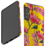Protective Samsung Galaxy A Series Case, Tough Back Cover, Floral Down Under   iCoverLover Australia