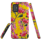 For  Samsung Galaxy A51 5G Case Tough Protective Cover Flower Pattern