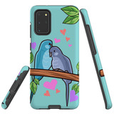 For Samsung Galaxy S20+ Plus Case Tough Protective Cover Birds In Love