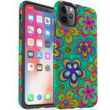Protective iPhone Case, Tough Back Cover, Retro Floral | iCoverLover Australia