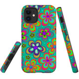 For iPhone 6 & 6S Case Tough Protective Cover Retro Floral