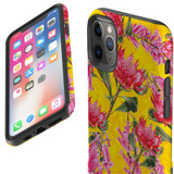 Protective iPhone Case, Tough Back Cover, Floral Down Under | iCoverLover Australia