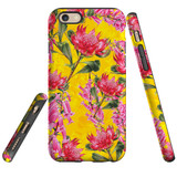 For iPhone 6 & 6S Case Tough Protective Cover Flower Pattern