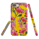 For iPhone 8 Plus & 7 Plus Case Tough Protective Cover Flower Pattern